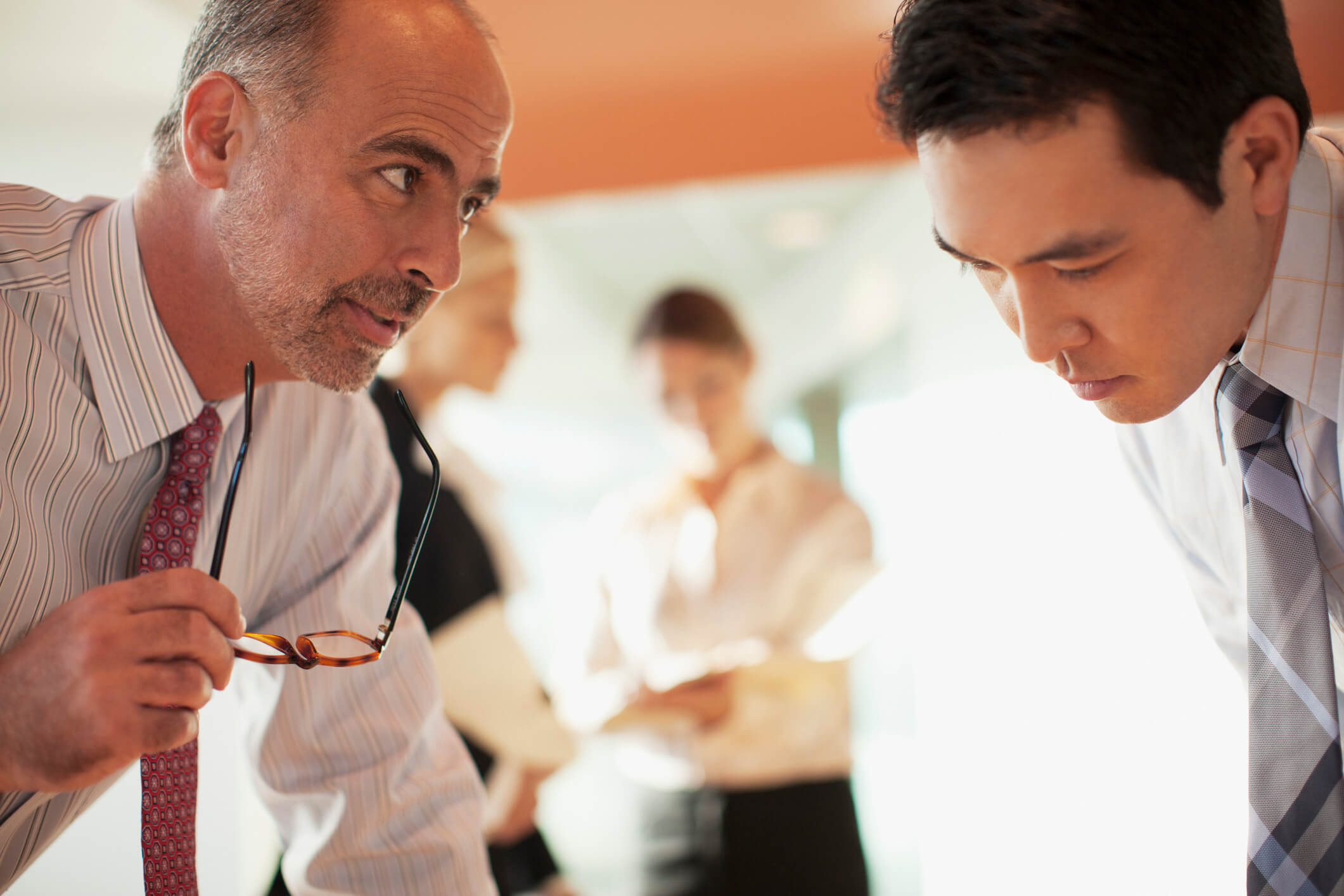 drawing out information from Japanese in business workplace