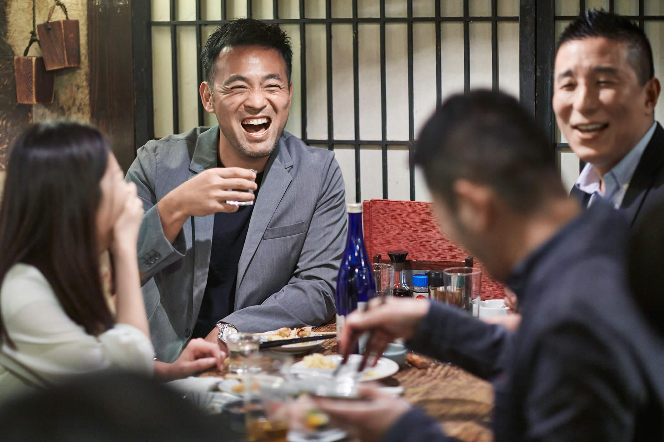 nomunication socializing relationship building japanese business