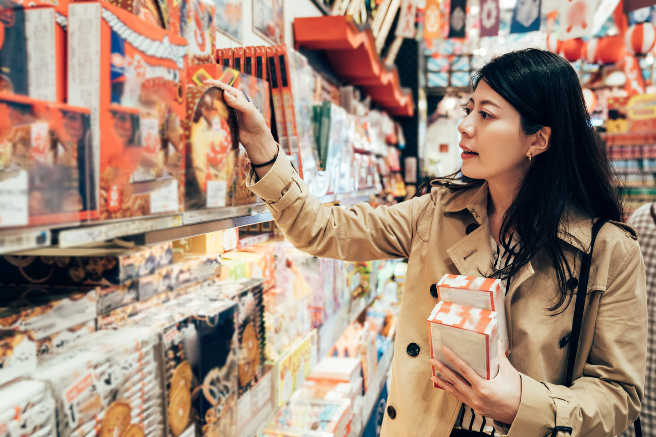 koseino feature-packed products in Japan