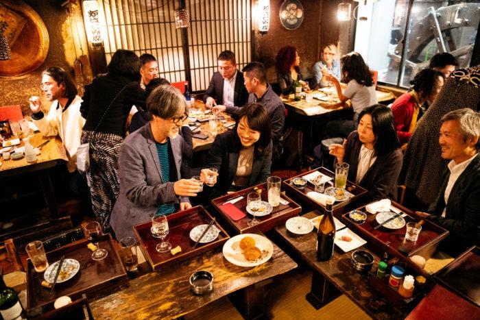 business socializing in Japan