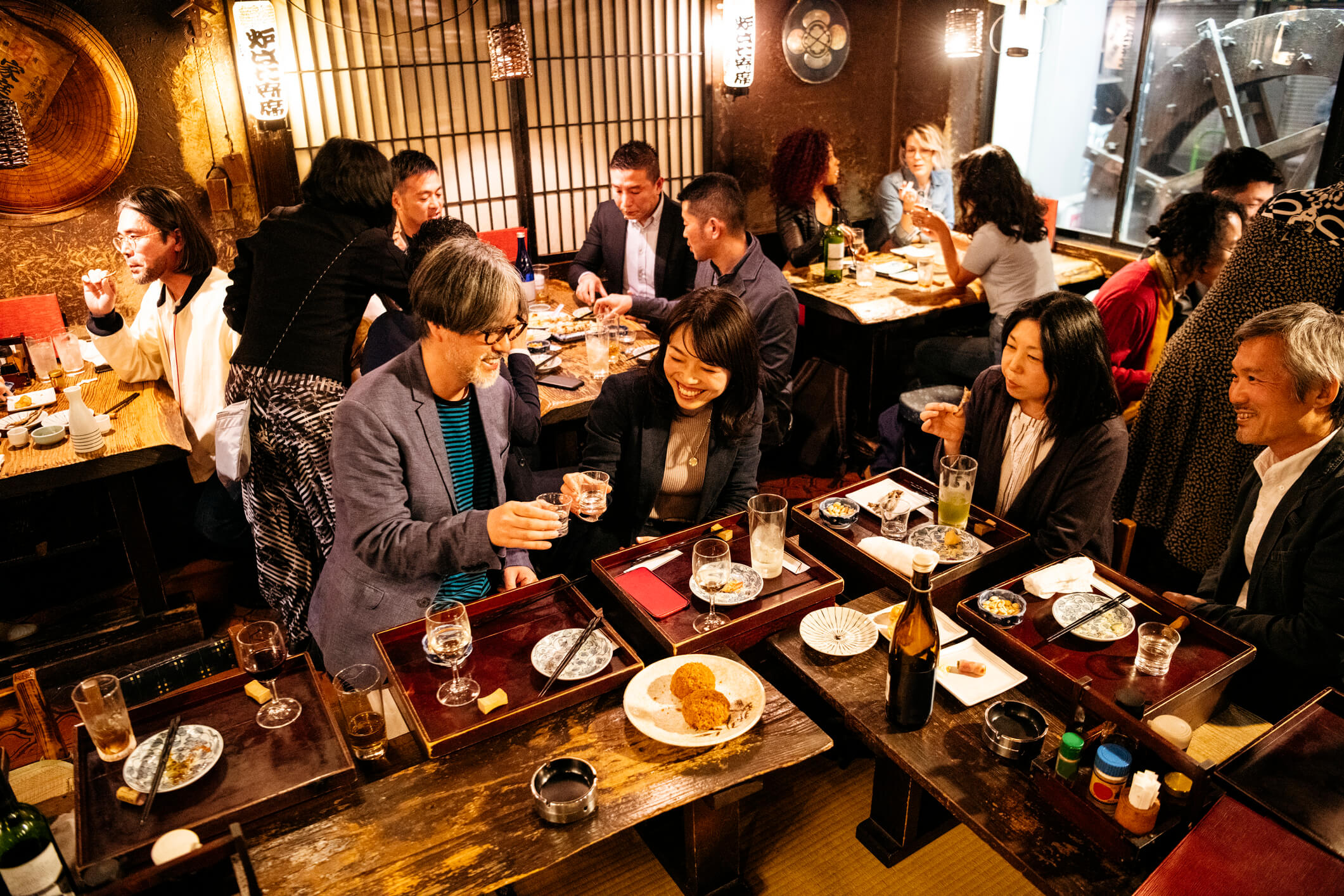 business socializing in Japan