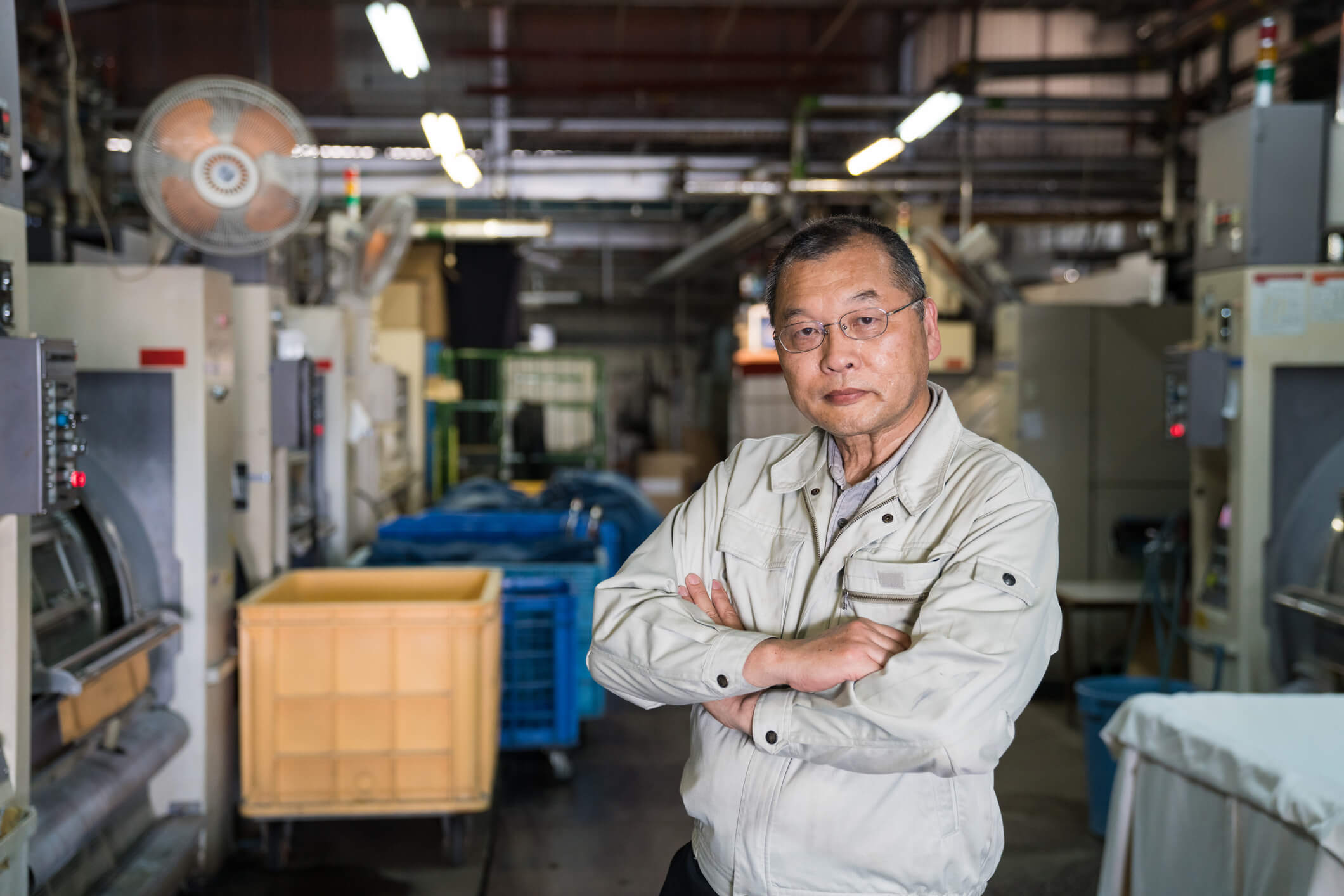Japanese factory manager