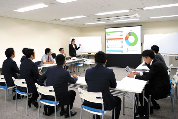 presenting to Japanese