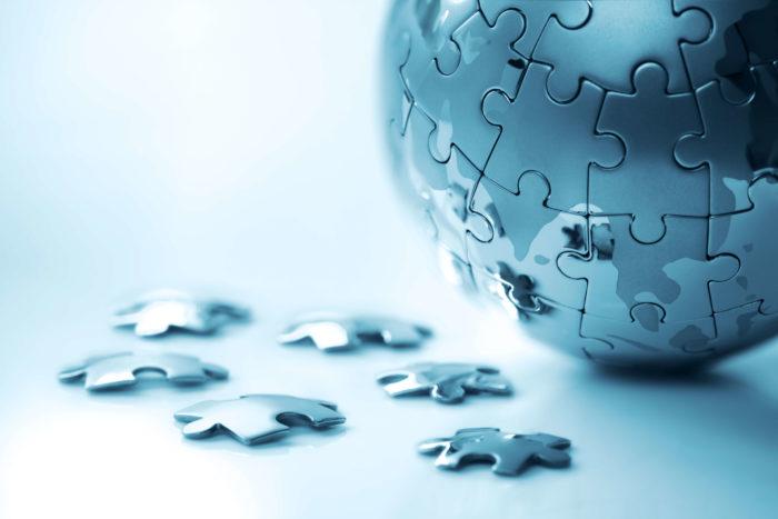 globalization puzzle Englishization